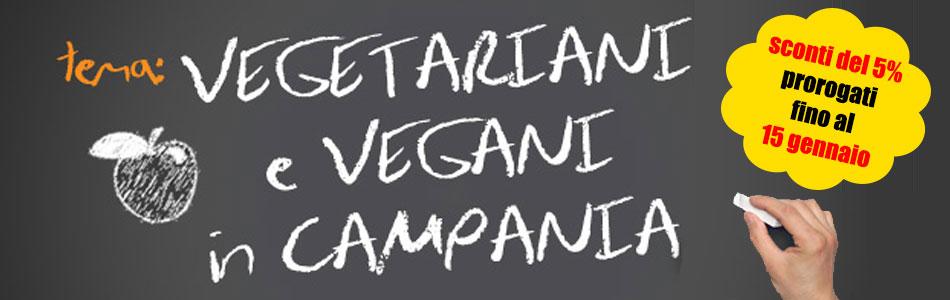 """Sconto del 5% agli iscritti al gruppo FB """"Vegetariani e vegani in Campania"""""""