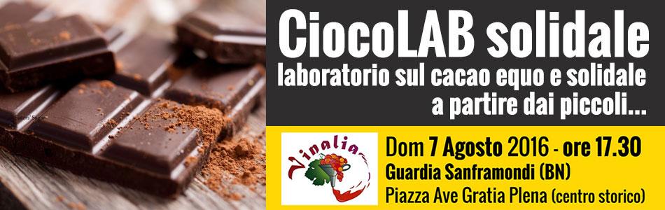 CiocoLAB laboratorio sul cacao solidale