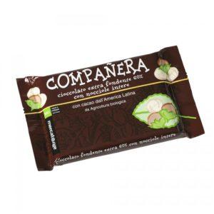 companera - cioccolato fondente extra con nocciole intere